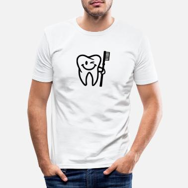 Tooth Tooth - Men's Slim Fit T-Shirt