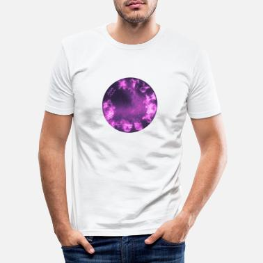 Superstition Zodiac signs | Astrology motif purple - Men's Slim Fit T-Shirt