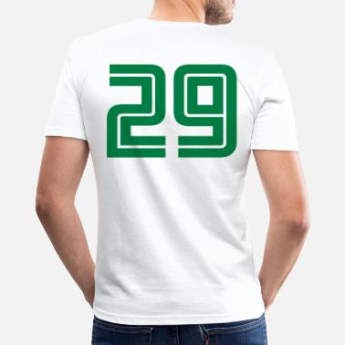 29 29 - Mannen slim fit T-shirt