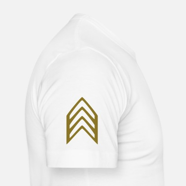 Arme Insignia Sergeant - Slim fit T-skjorte for menn