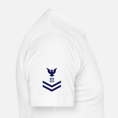 Navy Petty Officer Second Class PO2, US Navy - Männer Slim Fit T-Shirt