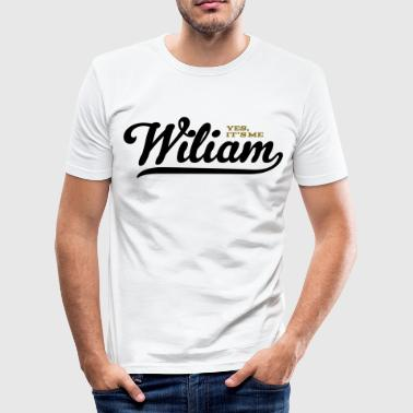 William (Yes It's Me) - slim fit T-shirt