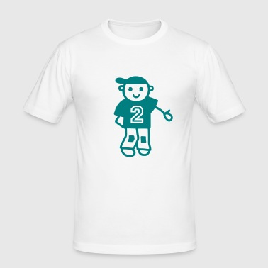 Boy 2 years old - Men's Slim Fit T-Shirt