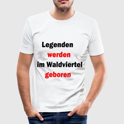 legenden1 - Männer Slim Fit T-Shirt