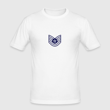 Technical Sergeant TSgt, Mision Militar ™ - Herre Slim Fit T-Shirt