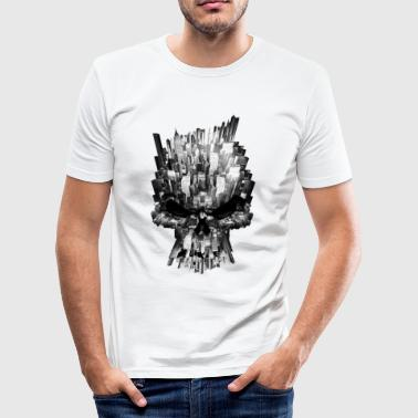 By skallen - Slim Fit T-skjorte for menn