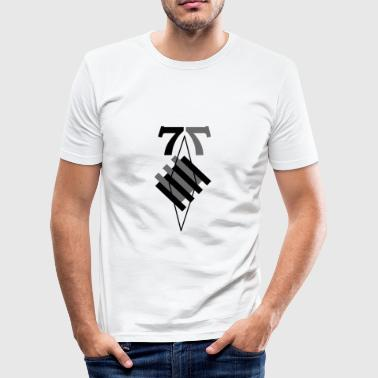 77 - Herre Slim Fit T-Shirt