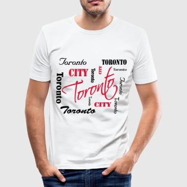 Toronto - Männer Slim Fit T-Shirt