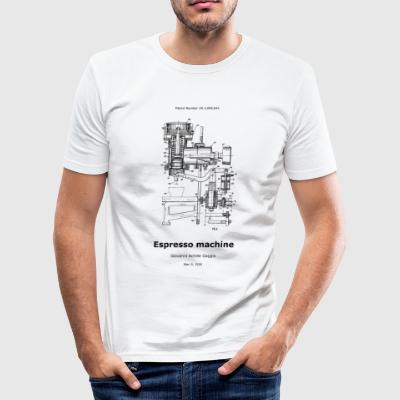 espressomachine - slim fit T-shirt