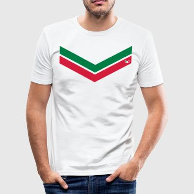 Italien-Art-V - Männer Slim Fit T-Shirt