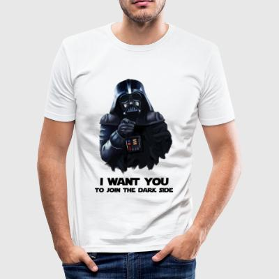 Darth Vader - Männer Slim Fit T-Shirt