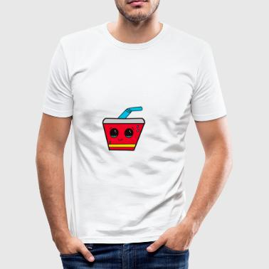 Cute Soda - Herre Slim Fit T-Shirt