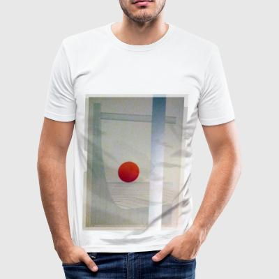 SUN SUN - Slim Fit T-shirt herr