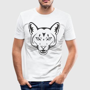 WILDCAT. CATS CATSELECTRIC FABRIC - Men's Slim Fit T-Shirt