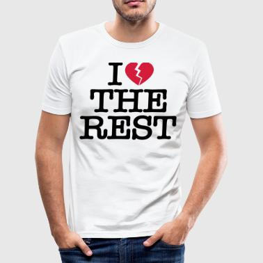 I hate the rest - Men's Slim Fit T-Shirt