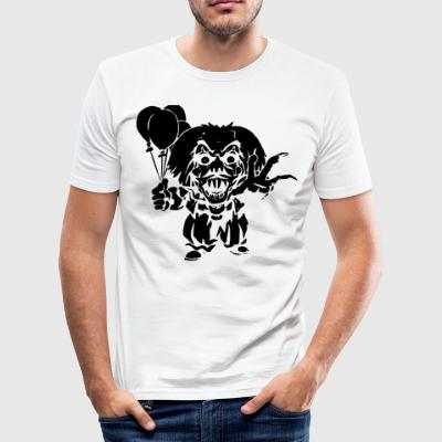 Horror Clown - Men's Slim Fit T-Shirt