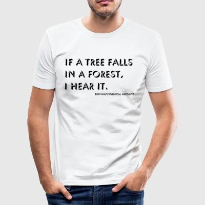 The philosophical arborist - Men's Slim Fit T-Shirt