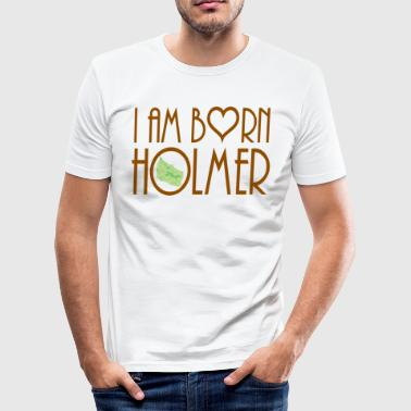 i am Bornholm - Männer Slim Fit T-Shirt