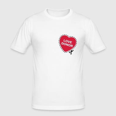 Love donor - slim fit T-shirt