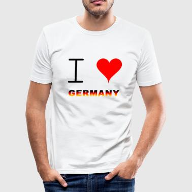 GERMANY / GERMANY - Men's Slim Fit T-Shirt