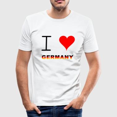 TYSKLAND / GERMANY - Slim Fit T-shirt herr