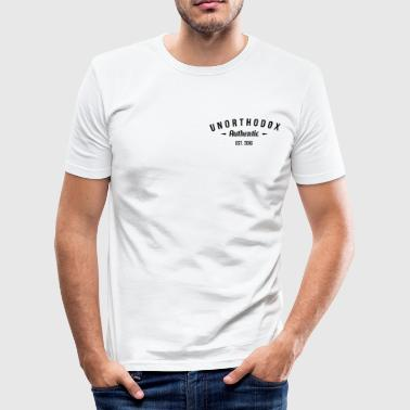 unorthodox Authentic - Männer Slim Fit T-Shirt