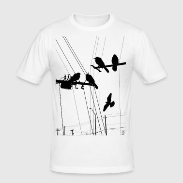 AD Birds - Men's Slim Fit T-Shirt