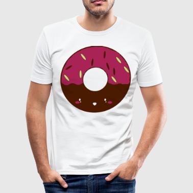 Icing Doughnut - Men's Slim Fit T-Shirt