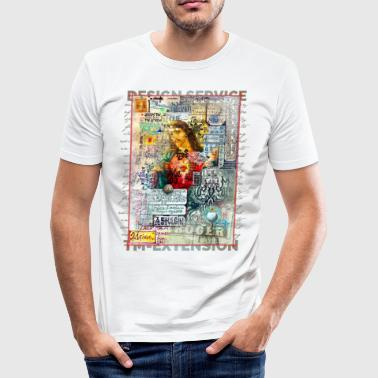 TM Jesus Design - Herre Slim Fit T-Shirt