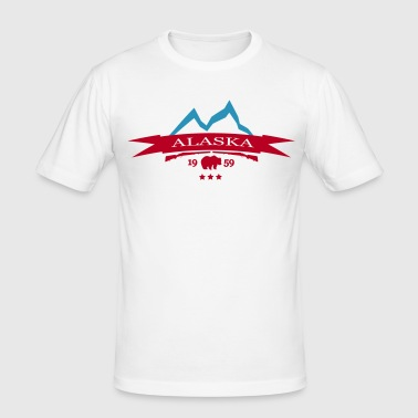 alaska - Männer Slim Fit T-Shirt