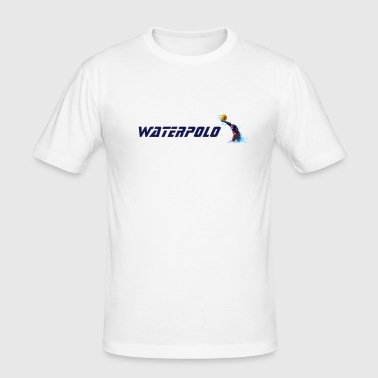 Waterpolo Player (basic) - Männer Slim Fit T-Shirt