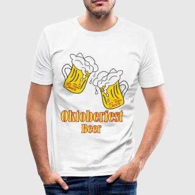 oktoberfest bier - slim fit T-shirt
