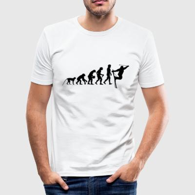 evolution skiløb - Herre Slim Fit T-Shirt