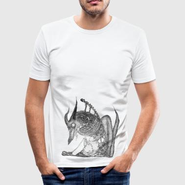 Wolf én - Herre Slim Fit T-Shirt