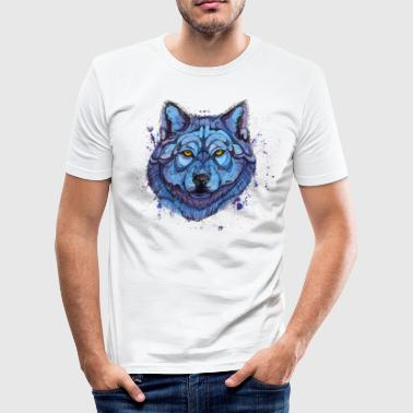 wolf - Men's Slim Fit T-Shirt