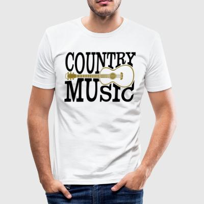 Country music - Men's Slim Fit T-Shirt