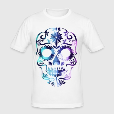 la calavera catrina tattoo meaning - Men's Slim Fit T-Shirt