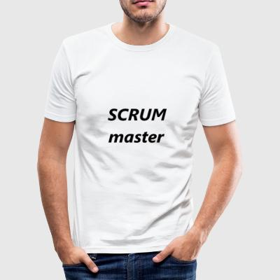 scrummaster - Men's Slim Fit T-Shirt