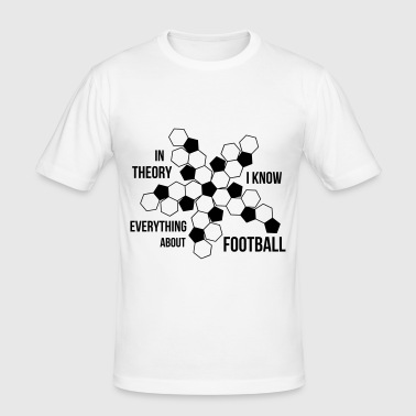 Football - Herre Slim Fit T-Shirt