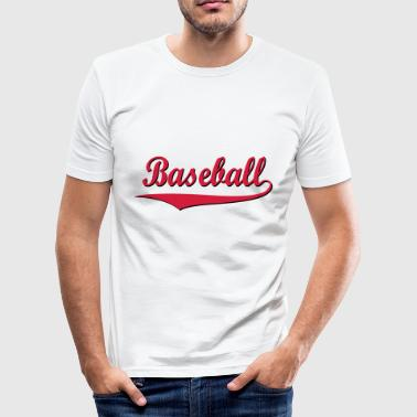 2541614 15076065 baseboll - Slim Fit T-shirt herr