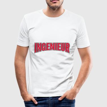 ingeniør - Slim Fit T-skjorte for menn