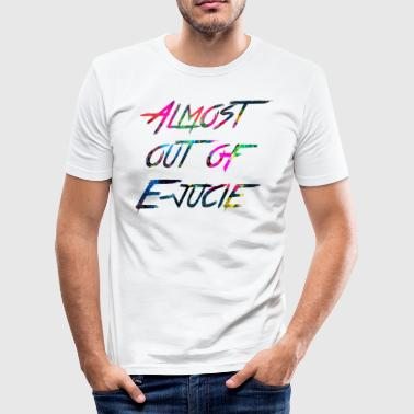 rainbow Almost out of Ejucie - Men's Slim Fit T-Shirt