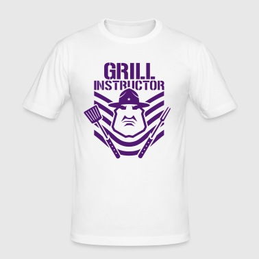 grill instructor - Men's Slim Fit T-Shirt