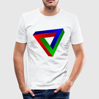 Impossible triangle - Men's Slim Fit T-Shirt