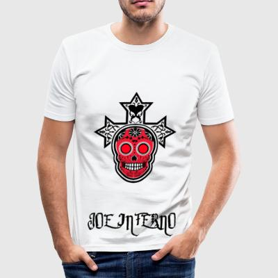 Joe Inferno - Männer Slim Fit T-Shirt