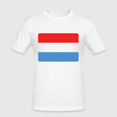 LUXEMBURG - Männer Slim Fit T-Shirt