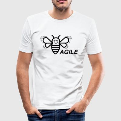 (E) Agile - Men's Slim Fit T-Shirt