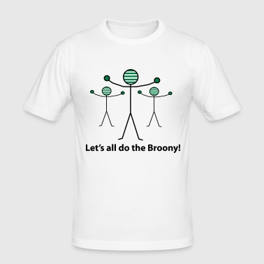 Let's all do the Broony - Men's Slim Fit T-Shirt