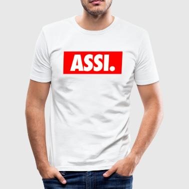 A**i Small - Männer Slim Fit T-Shirt
