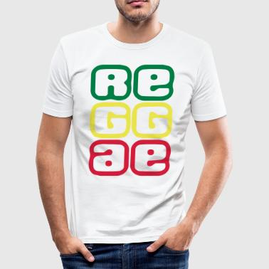 080 reggae - slim fit T-shirt
